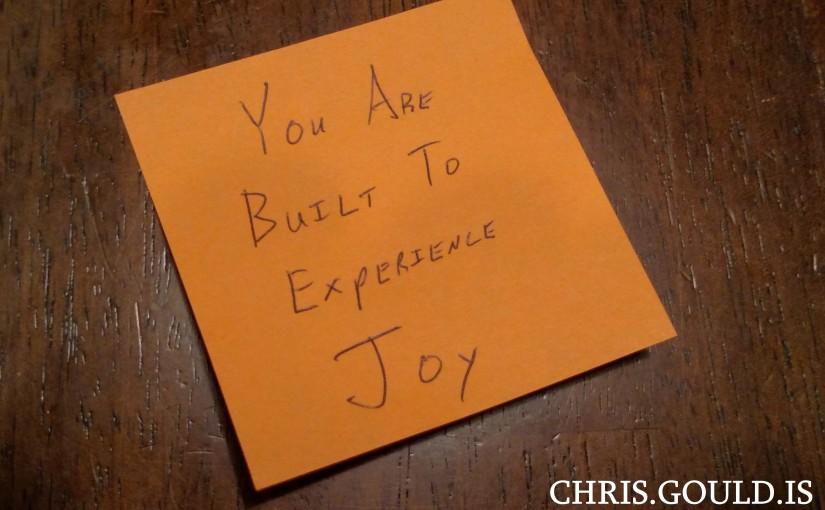 Conviction I – You Deserve Joy